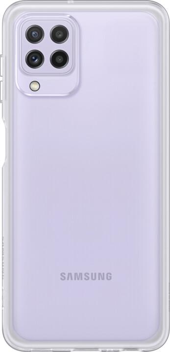 Samsung zadní kryt Clear Cover pro Galaxy A22 (LTE), transparentní