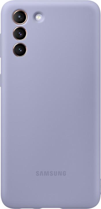 Samsung silikonový kryt pro Samsung Galaxy S21+, fialová