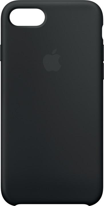 Apple Silikonový kryt na iPhone 7/8 – černý
