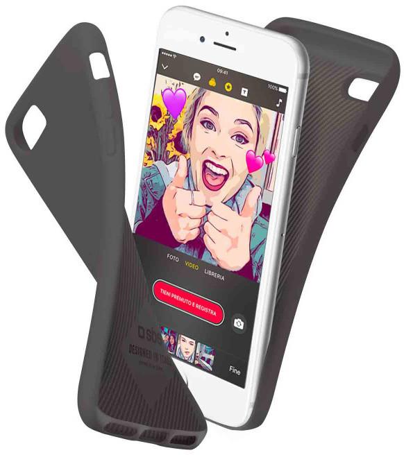 SBS Polo pouzdro pro iPhone 8/7/6S/6, černá