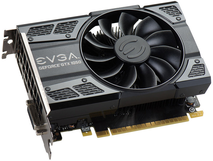 EVGA GeForce GTX 1050 SC GAMING, 2GB GDDR5