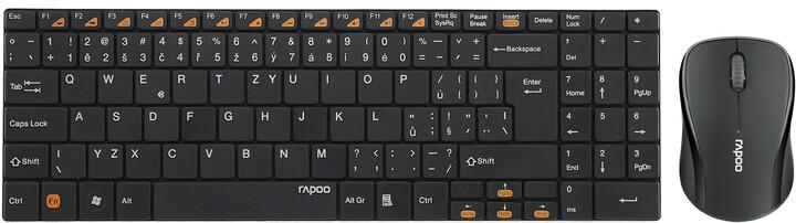 Rapoo 9060, černá, CZ