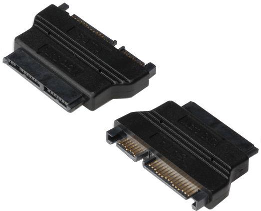 PremiumCord SATA Adapter, Micro SATA16pin F - SATA22pin M