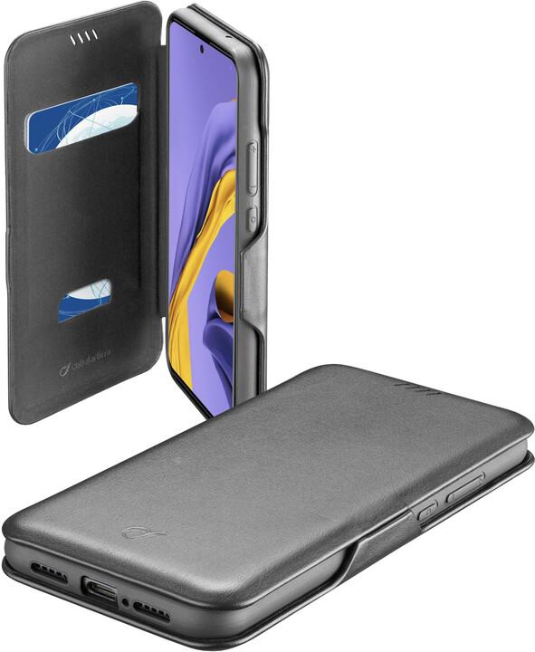 Cellularline pouzdro typu kniha Book Clutch pro Samsung Galaxy A51, černá