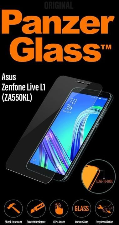 PanzerGlass Edge-to-Edge pro Asus Zenfone Live L1 (ZA550KL), čiré