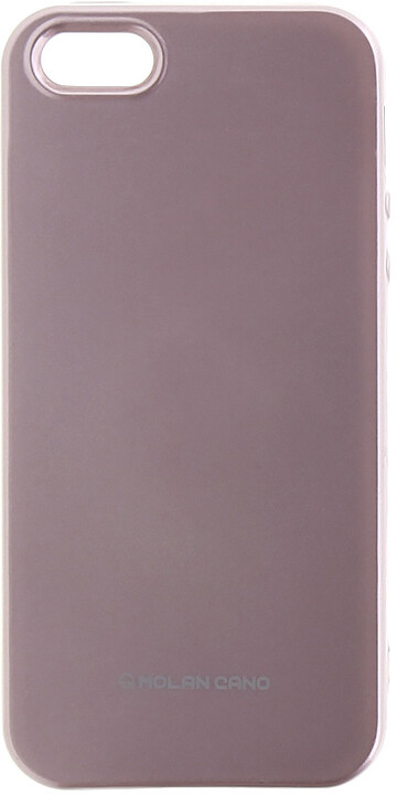 Molan Cano Jelly TPU Pouzdro pro Xiaomi mi A1, růžově zlatá