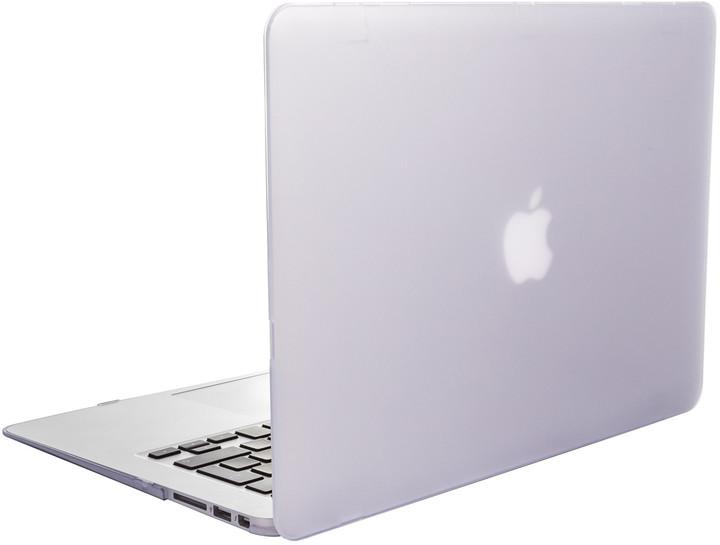 "EPICO plastový kryt pro MacBook Air 13"" 2018 MATT (A1932), bílá"