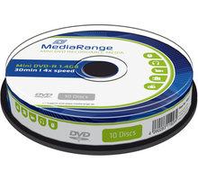 MediaRange DVD-R 8cm 1,4GB 4x, Spindle 10ks - MR434