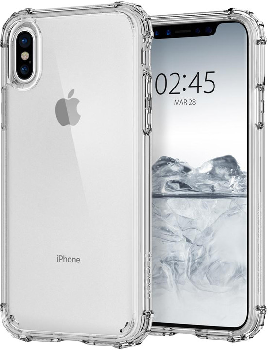 Spigen Crystal Shell iPhone X, clear crystal