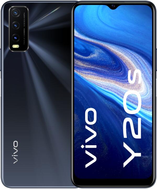vivo Y20s, 4GB/128GB, Obsidian Black