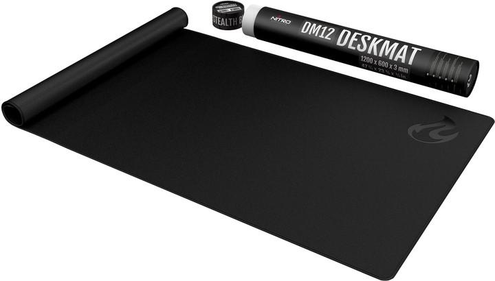 Podložka pod myš Nitro Concepts DM12, černá