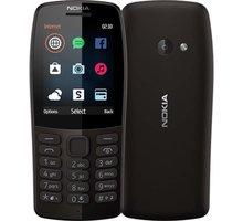 Nokia 210, Dual Sim, černá
