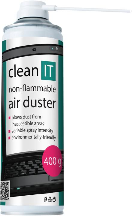 Clean IT čistící stlačený vzduch 400g, nehořlavý