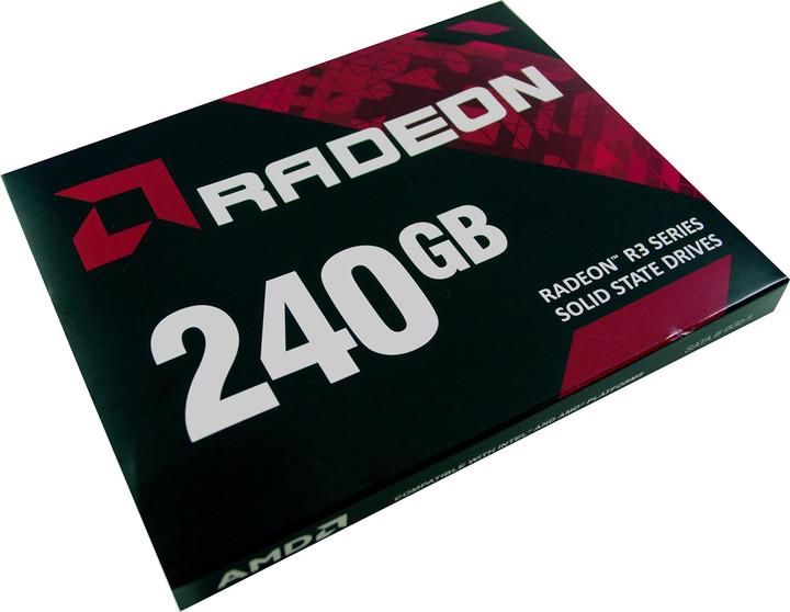 """AMD Radeon R3, 2,5"""" - 240GB"""