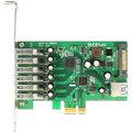 DeLock řadič 6x externí + 1x interní USB 3.0, PCI-E