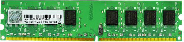 G.SKill Value 2GB DDR2 800, CL5