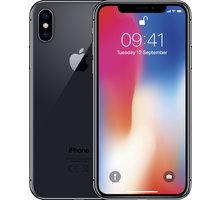 Repasovaný iPhone X, 64GB, Space Grey O2 TV Sport Pack na 3 měsíce (max. 1x na objednávku) + Elektronické předplatné Blesku, Computeru, Reflexu a Sportu na půl roku v hodnotě 4306 Kč