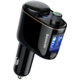 Baseus Locomotive multifunkční Bluetooth/FM transmiter do auta, černá
