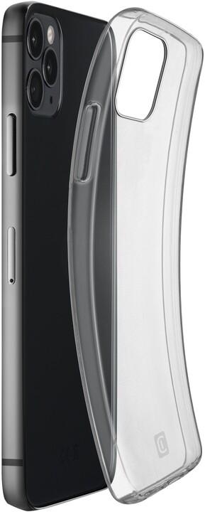 Cellularline extratenký zadní kryt Fine pro Apple iPhone 12 Pro Max, čirá