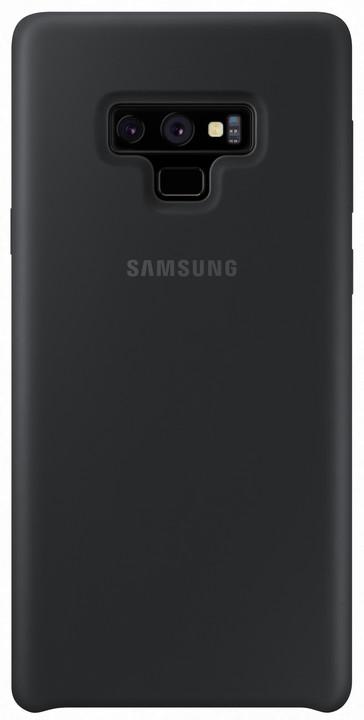 Samsung Galaxy Note 9 silikonový zadní kryt, černý