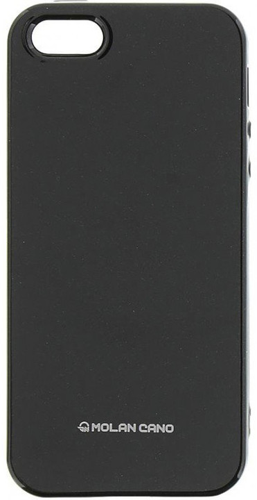 Molan Cano Jelly TPU Pouzdro pro Xiaomi Redmi 5 Plus, černá