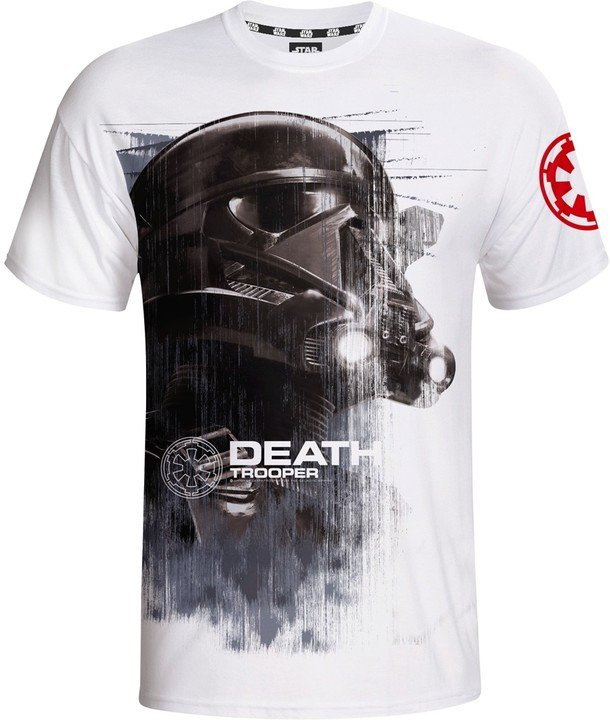 Star Wars - Death Trooper, bílé (M)