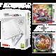 Nintendo New 3DS XL, bílá + Mario Sports Superstars + Yo-Kai Watch 2: Bony Spirits  + Voucher až na 3 měsíce HBO GO jako dárek (max 1 ks na objednávku)