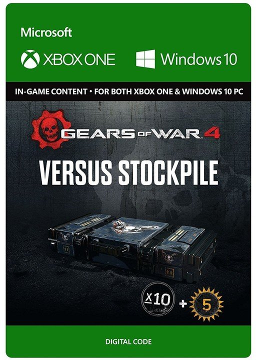 Gears of War 4 - Versus Booster Stockpile (Xbox Play Anywhere) - elektronicky