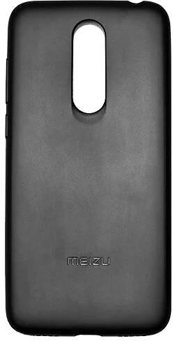 Meizu TPU protective case + HD Screen Protector pro Meizu M6T, černá
