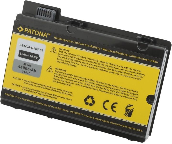 Patona baterie pro Fujitsu AMILO Pi2540 4400mAh Li-Ion 10,8V