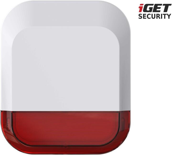 iGET SECURITY EP11 bezdrátová venkovní siréna pro alarm iGET SECURITY M5