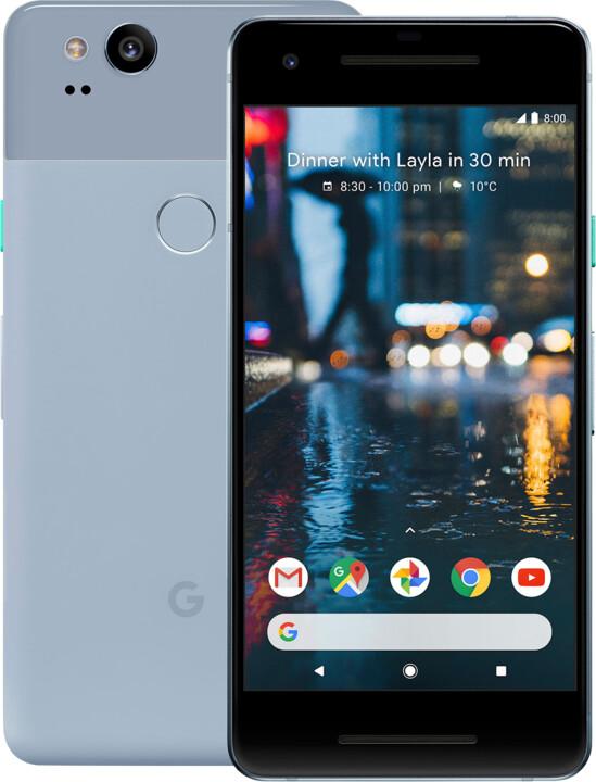 Google Pixel 2 - 64gb, modrá