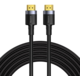 BASEUS kabel Cafule Series, HDMI 2.0, M/M, 4K@60Hz, 5m, černá