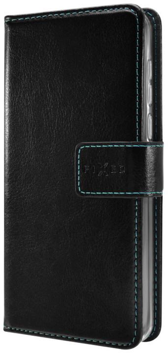 FIXED Opus pouzdro typu kniha pro Huawei P20 Pro, černé
