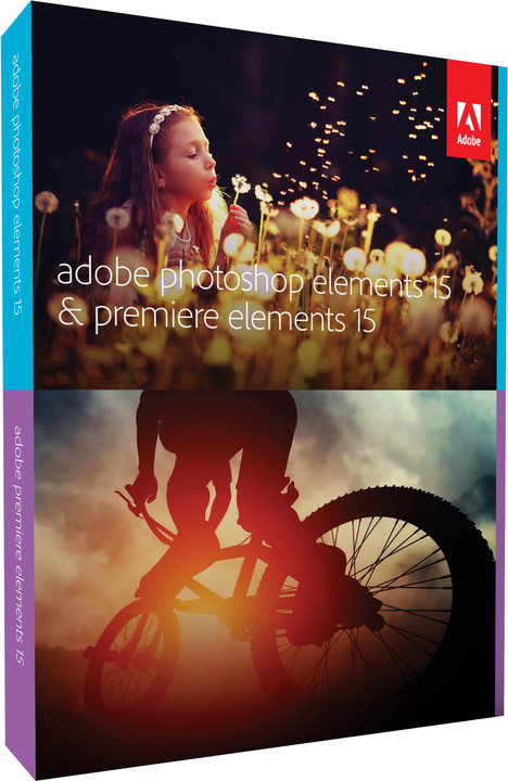 Adobe Photoshop + Premiere Elements 15 CZ