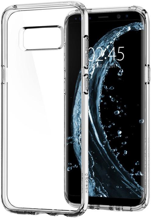 Spigen Ultra Hybrid pro Samsung Galaxy S8+, crystal clear