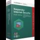 Kaspersky Internet Security multi-device 2017 CZ, 1 zařízení, 1 rok, nová licence