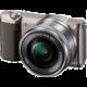 Sony Alpha 5100 + 16-50mm, hnědá