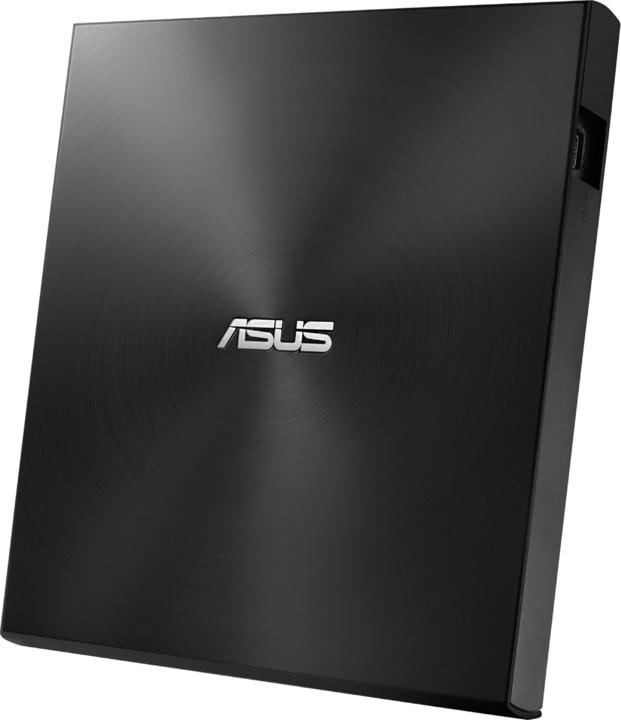 ASUS SDRW-08U7M-U + 2x M-Disk, slim, externí, černá