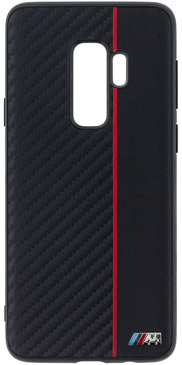 "BMW ""M"" Carbon TPU Case Red pro Samsung G965 Galaxy S9 Plus"