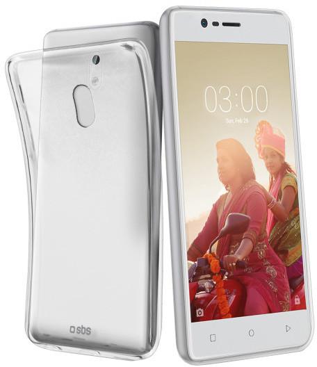 SBS Skinny pouzdro pro Nokia 3, transparentní