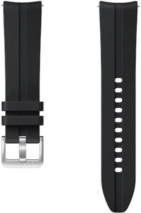 Samsung sportovní řemínek Ridge pro Samsung Galaxy Watch 3, 20mm, černá