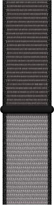 Apple řemínek pro Watch Series 5, 40mm provlékací sportovní, černošedá