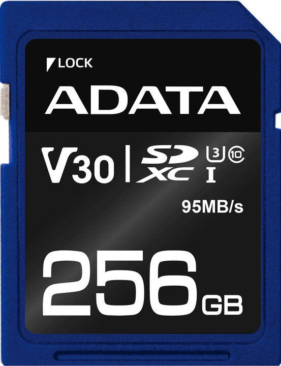 ADATA SDXC Premier Pro 256GB 95MB/s UHS-I U3