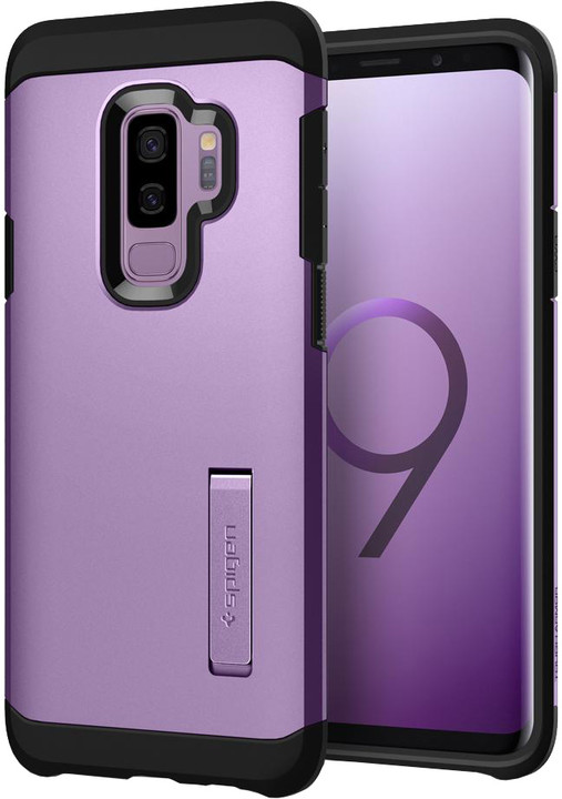 Spigen Tough Armor pro Samsung Galaxy S9+, lilac purple