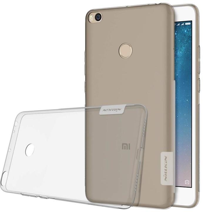 Nillkin nature TPU pouzdro pro Xiaomi Mi Max 2 - šedá