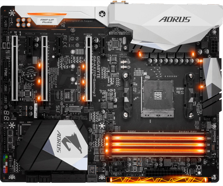 GIGABYTE AM4 AX370-Gaming 5 - AMD X370