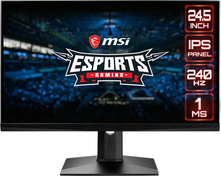 "MSI Gaming Optix MAG251RX - LED monitor 24,5"""