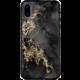 Bling My Thing Treasure Onyx/Hematite Skull zadní kryt pro Apple iPhone X, krystaly Swarovski®