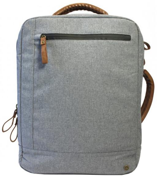 PKG Laptop Backpack - světle šedý